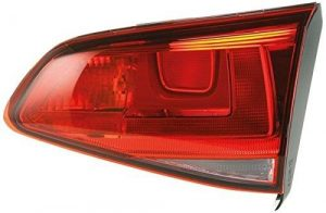 HELLA 2TZ 011 978-111 Combination Rearlight, Left, 12V, Bulb Technology, with lamp base, with bulbs