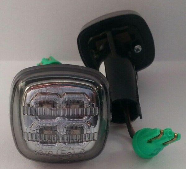 Fits Audi A3 8L 09.96-05.03 - Right Left OS NS Side Light Indicator LED Chrome