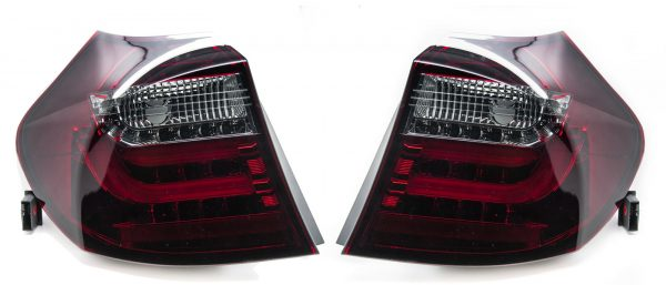 Back Rear Tail Lights For BMW 1 Series Hatchback E87 2004-07 LED Lamps Bars