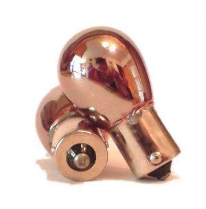 Silvatec Silver Chrome 581 1157 Bau15S Py21 Amber Yellow Orange Indicator Bulbs