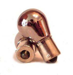 Silvatec Silver Chrome 382 1156 Ba15S Py21 Amber Yellow Orange Indicator Bulbs