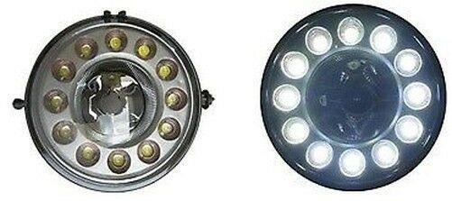DRL LED Fog Lights Lighting Lamp Chrome For Mini Mk2 R56 2007-2010- On