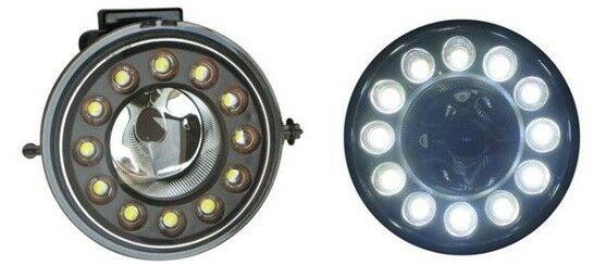 DRL LED Fog Lights Lamp Part Black For Mini Mk2 R56 R57 R58 R59 2010-15-On