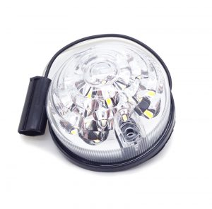 For Land Rover Defender 88 90 109 110 White LED Clear Side Lamp Light Upgrade