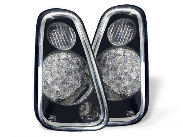 Black LED Rear Tail Lights Lamp Indicator Back - Fits BMW Mini All Models - 2006