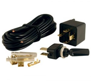 Universal 12V Wiring Kit Switch And Relay Car Boat 4X4 Spot Fog DRL + More