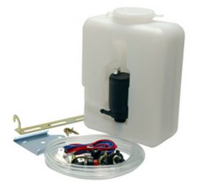Wipac Universal Washer Bottle Full Kit 1.2L 12V Pump Replay For Land Rover
