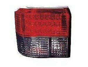 For VW Transporter T4 90-03 LED Back Rear Tail Lights Lamps Half Smoked Red