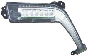 Right Side OS DRL Light Lamp LED Bulbs For Peugeot 308 Mk1 Hatch 6.11-4.14