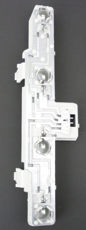 For Vauxhall Zafira Mk2 3/2008-2014 Rear Light Lamp Bulb Holder Left Side NS