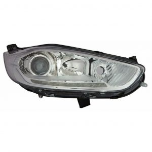 For Ford Fiesta MK7 12-18 right side headlight with LED DRL Titanium & ST