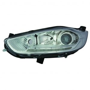 For Ford Fiesta MK7 12-18 left side headlight with LED DRL Titanium & ST