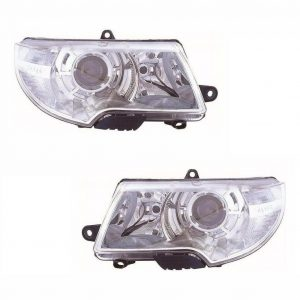 For Skoda Superb Mk2 9/2008 Headlights Headlamps Lighting Part 1 Pair O/S & N/S