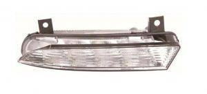 Right Side OS DRL Light LED Bulbs For Skoda Octavia Mk2 VRS Estate 4.09-4.13
