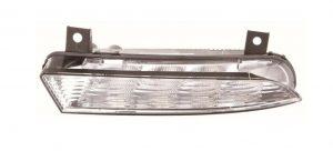 Left Side NS DRL Light LED Bulbs For Skoda Octavia Mk2 VRS Estate 4.09-4.13