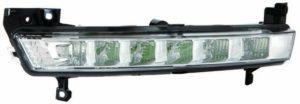 Left Side NS DRL Light LED Bulbs For Citroen C4 Picasso Mk1 MPV 3.11-13