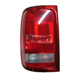 Left Passenger Side NS Nearside Rear Light Lamp Red & Clear Lens Fits VW Amarok
