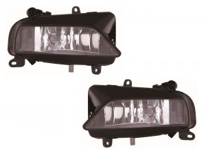 For Audi A5 Coupe 9/2011 S-Line Models Fog Lights Lamps 1 Pair O/S And N/S