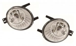 Pair Right OS Left NS Side Fog Lights H8 W5W For Ford S-Max MPV 12.10-15