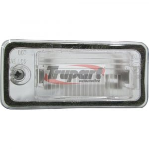 Rear Left Passenger Side NS Number Plate Light Lamp C5W Fits Audi A3 A4 A6
