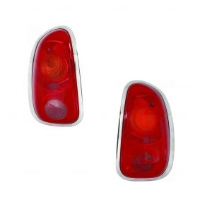 For Ford C-Max Mpv 10/2006-2012 Rear Red Bumper Reflector Lights Pair OS NS