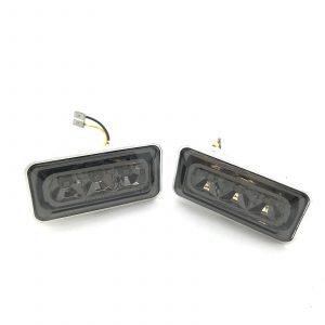For VW Golf MK3 92-98 black smoked LED side repeaters indicators blinkers pair