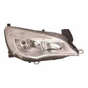 For Vauxhall Astra J 09-12 right headlight headlamp chrome