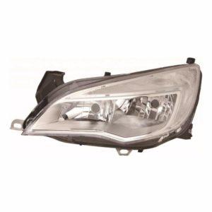 For Vauxhall Astra J 09-12 left headlight headlamp chrome sport models