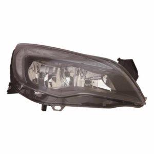 For Vauxhall Astra J 09-12 right headlight headlamp black sport models