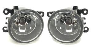 Pair Right OS Left NS Side Fog Lights H11 For Citroen C4 Mk1 Hatch 04-10