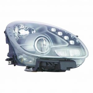 For Alfa Romeo Giulietta 2010 Headlight Headlamp Black Inner Drivers Side O/S