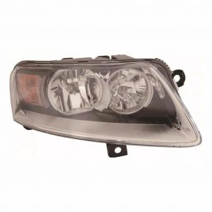For Audi A6 06-8/11 Allroad 1/09-6/09 Headlight Black Inner Right Driver Side
