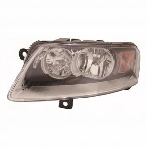 For Audi A6 06-8/11 Allroad 1/09-6/09 Headlight Black Inner Left Passenger Side