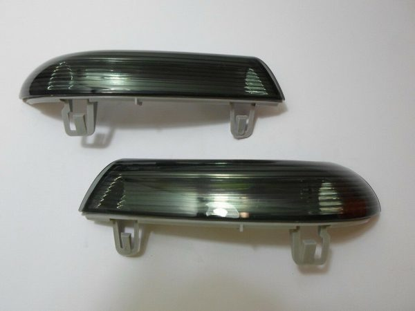 Pair Right OS Left NS Door Wing Mirror Indicators Smoked For VW Eos 06-7.11