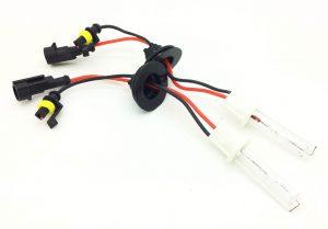 Pair 100w xenon HID gas discharge bulbs