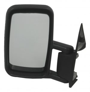 For Mercedes Sprinter Van 1995-2006 Manual Wing Door Mirror Black Left Side NS