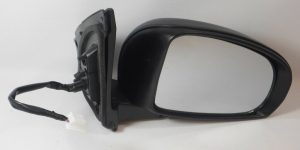 For Toyota iQ Hatchback 2009-> Electric Mirror Paintable - Black Right OS Side