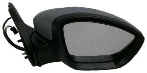 For Peugeot 208 Hatchback 2012-> Electric Wing Door Mirror Primed Right OS Side