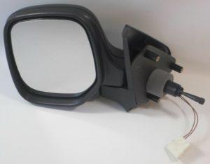 For Citroen Berlingo Van 1996-2008 Cable Heated Wing Mirror Black Left Side NS