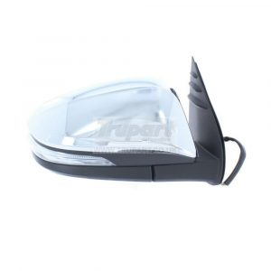 Right Driver Side OS Door Wing Mirror Electric Power Fold Fits Toyota Hi-Lux