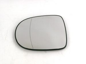 Trupart MG7453 Left Mirror Glass Heated Convex Fits Renault Clio 05.09-12.13