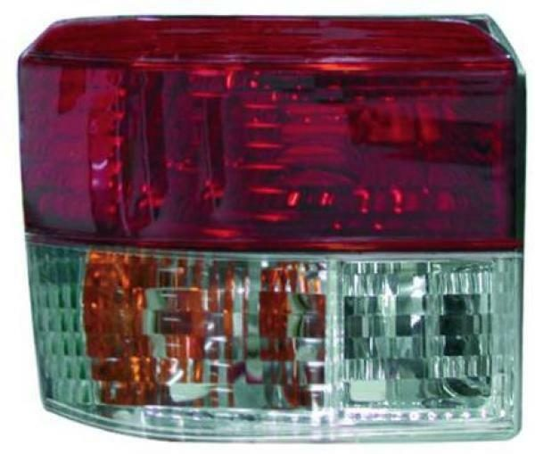 Back Rear Tail Lights Pair Set Clear Red White For VW T4 Caravelle 96-03