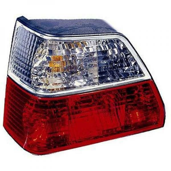 Back Rear Tail Lights Pair Set Clear Red White For VW Golf II Typ191 83-91