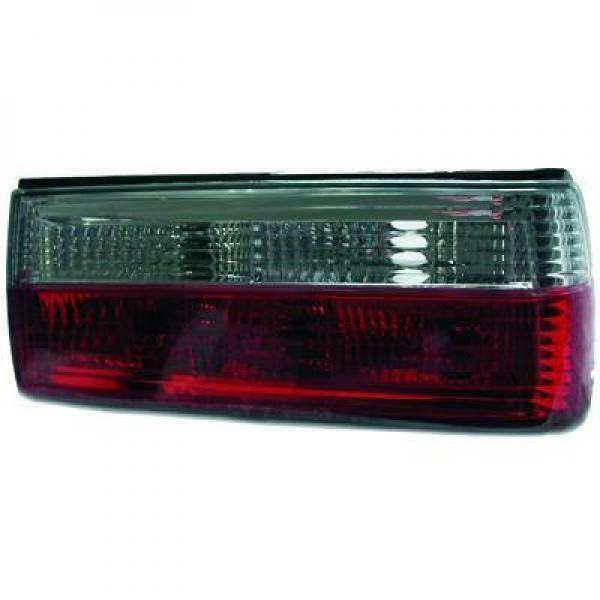 Back Rear Tail Lights Pair Set Red White BMW 3 Series E30 87-90