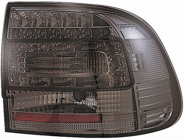 Back Rear Tail Lights Pair Set LED Smoked For Porsche Cayenne 03-07