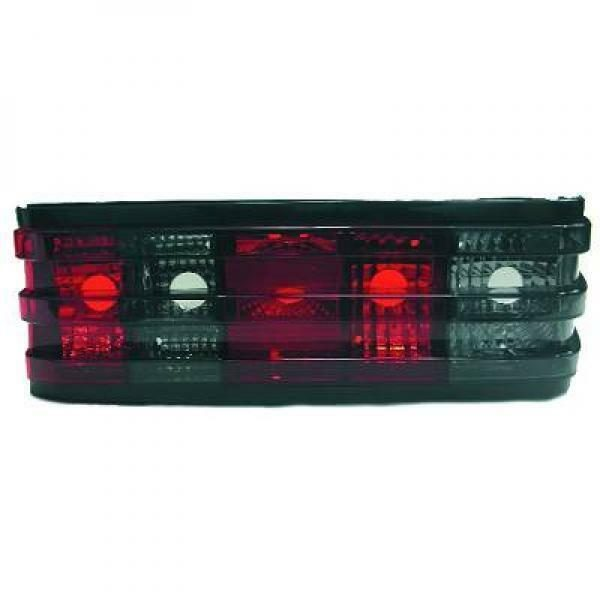 Back Rear Tail Lights Pair Set Clear Red Grey For Mercedes-Benz W201 82-93