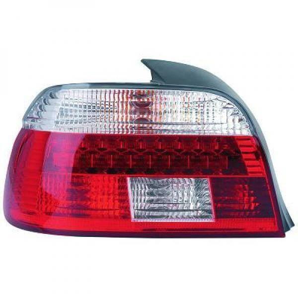 Back Rear Tail Lights Pair Set LED Brilliant Red White For BMW E39 95-00