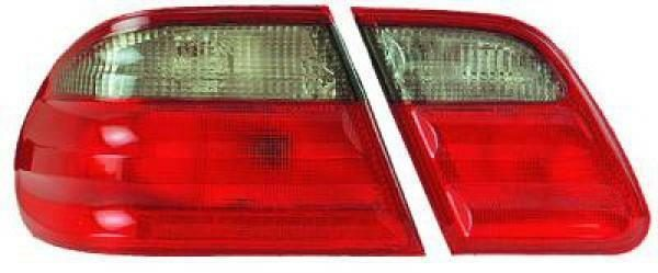 Back Rear Tail Lights Pair Set Red Grey For Mercedes-Benz E Class W210 95-02