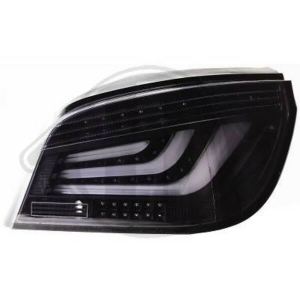 Back Rear Tail Lights Pair Set Clear Smoke For BMW 5 Series E60 07-10