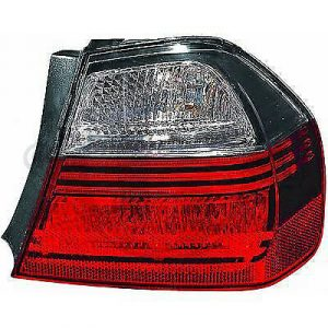 Back Rear Tail Light right Smoke darkline blackline For BMW 3 Series E90 Saloon